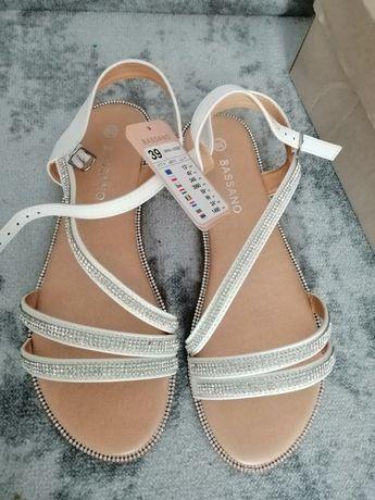Nowe sandały damskie rozmiar 38 39 buty na lato