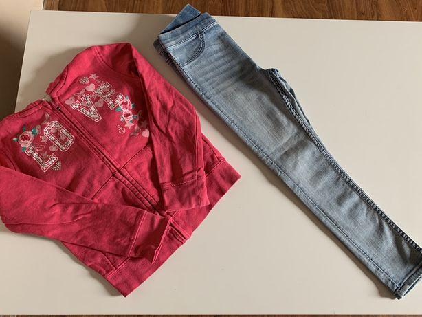 Spodnie bluza r.110