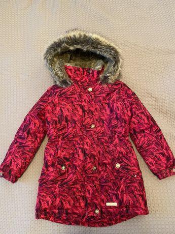 Зимняя куртка Lenne 134 рост