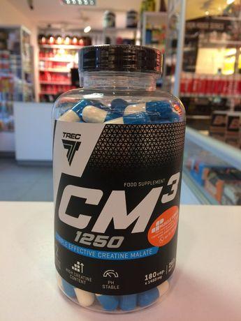 TREC CM3 - 180caps jabłczan kreatyny , siła, masa Muscle Power