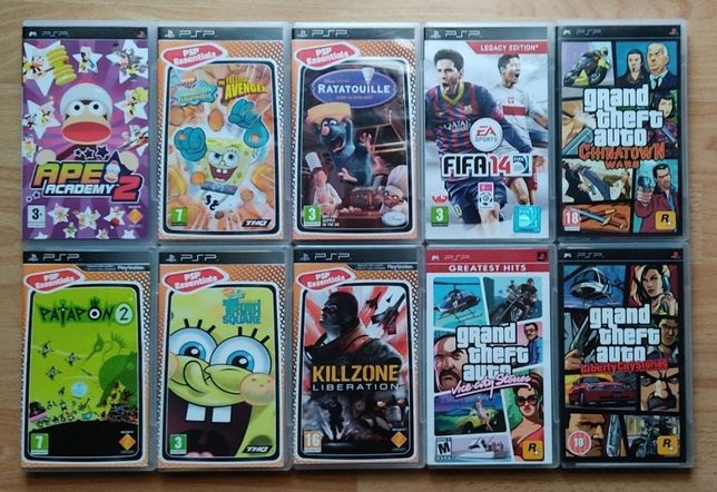 PlayStation Portable! Patapon, Ratatuj, GTA, FIFA, Killzone itd! PSP