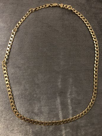 Złoty łańcuszek pancerka pełna pr585