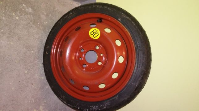 Koło dojazdowe zapasowe Fiat Brava 105/70 14 ET 43