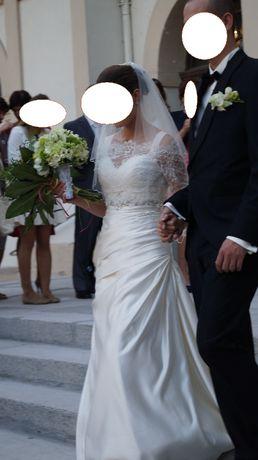 Elegancka suknia San Patrick hiszpańska ivory 36/38 okazja!!!gratisy