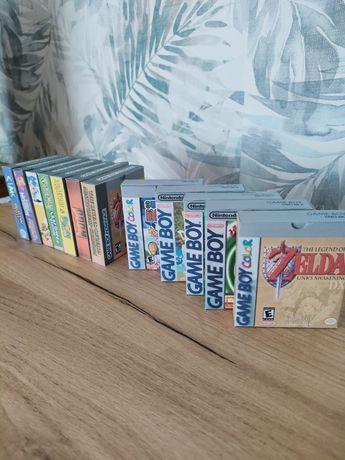 Gry Gameboy / game boy color, advance pokemon, zelda pudełka ochronne