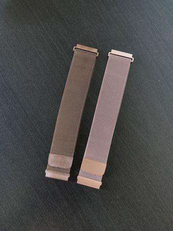 Braceletes Aço inoxidável Milanesa 22mm Amazfit, Huawei, Samsung