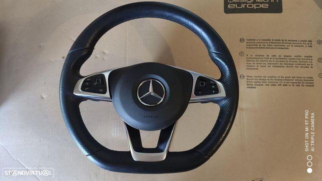 Volante AMG completo Mercedes w205 facelift + w213
