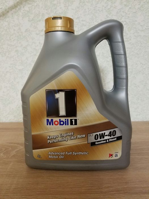 Масло моторное  Mobil 1 0W-40 Advanced Full Synthetic, 4 L Черновцы - изображение 1