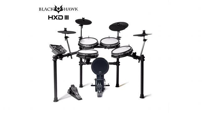 NOWA Perkusja elektroniczna Black Hawk HXD III (naciągi siateczkowe)