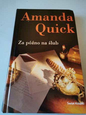 Za późno na ślub Amanda Quick