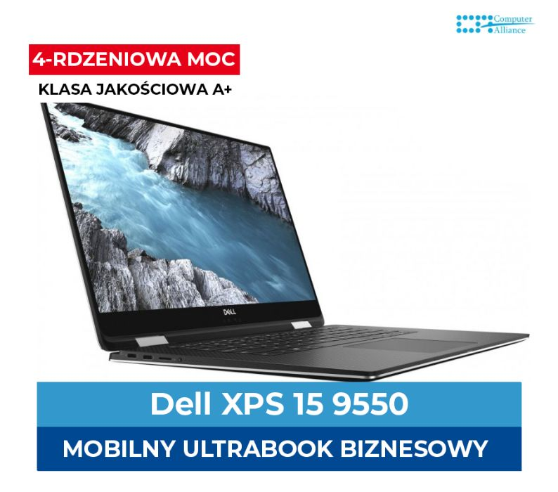 Dell XPS 15 9550 i7-6700HQ | 16 GB | 1TB SSD M.2 | GTX 960M 2GB 4K !! Kraków - image 1
