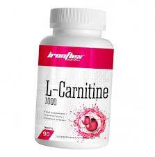 L-carnitine -1000mg-90tabl Iron Flex (biotech,l-glutamine,bcaa)