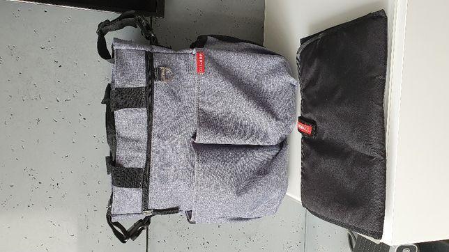Skip Hop Torba Duo Signature torba do wozka szara jak Nowa wysyłka