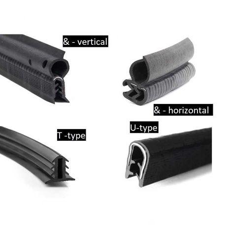 автомобильный уплотнитель (Ущільнювач) T, T-type, U, U-type, Q, Q-type