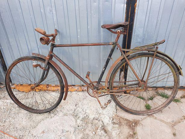 Stary rower łucznik zzr popularny zabytkowy meski rower
