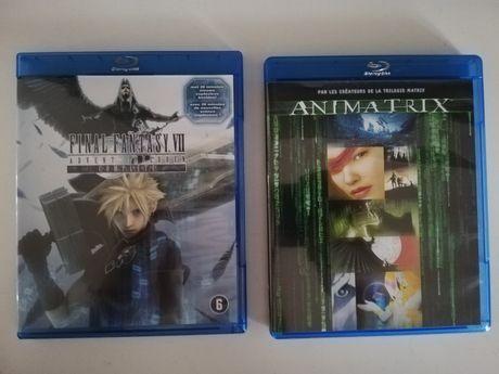 Final Fantasy 7 i Animatrix na Bluray