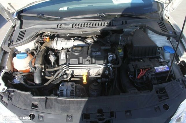 Motor Volkswagen Polo 1.4Tdi 80cv BMS Caixa de Velocidades Automatica + Motor de Arranque  + Alternador + compressor Arcondicionado + Bomba Direção