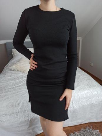 Sukienka uniwersalna z rozcieciem
