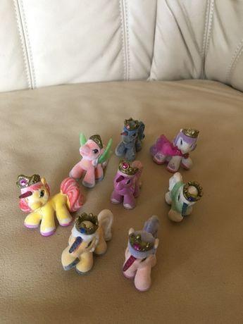 Figurki My Little Pony Kucyki koniki filly zamszowe zestaw kucyków