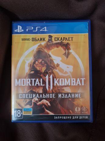 Mortal Kombat 11 SE PS4 Диск