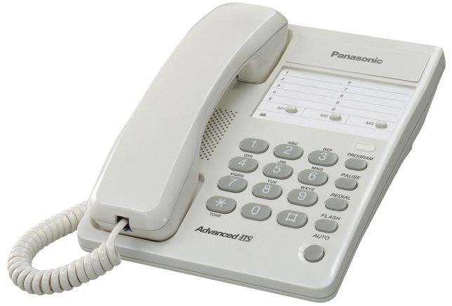 Panasonic, телефон, проводный. Модель КХ - ТS2361RUW