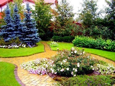 Ландшафтный дизайн. Проект подключ озеленение участка