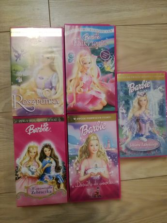 Barbie -kasety vhs