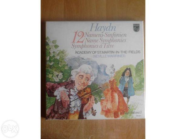 Sinfonias de Haydn em vinil (Caixa com 6 LPs)
