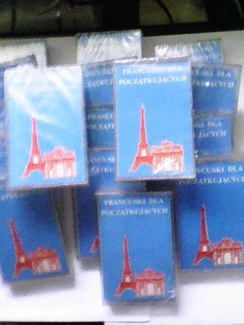 Francuski dla początkujących 32 lekcje na 18 kasetach (nowe) 30 PLN