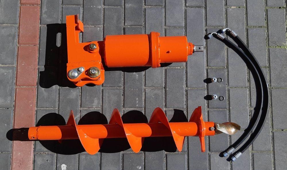 Nowa Mocna Wiertnica Hydrauliczna do minikoparek Okazja Brzeziny - image 1