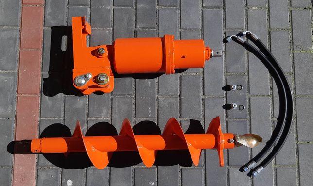 Nowa Mocna Wiertnica Hydrauliczna do minikoparek Okazja