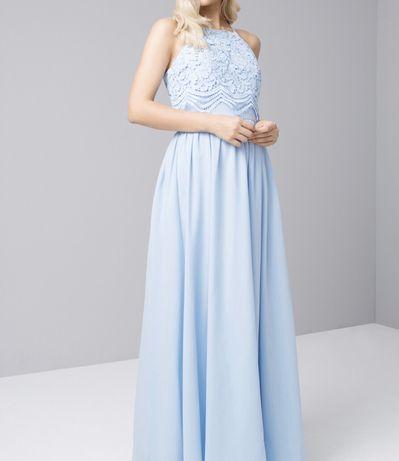 Выпускное праздничное торжественное платье 42-44 S M