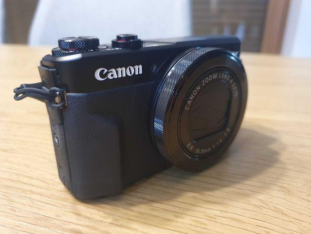 Aparat Canon PowerShot G7 X Mark II + karta pamięci 64gb + Etui