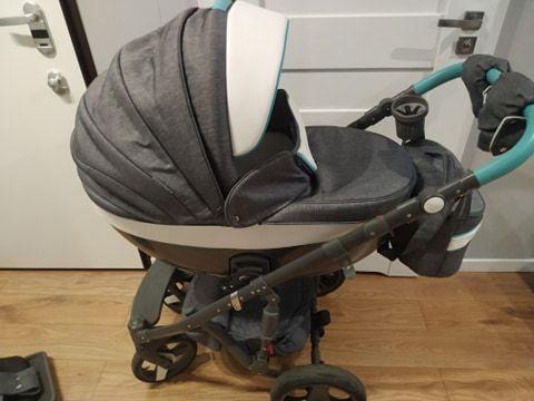 Wózek Adamex Monte Deluxe Carbon