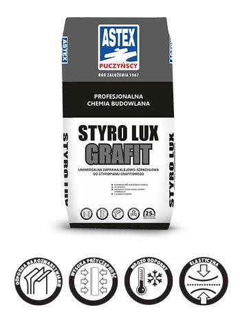 Zaprawa klejowa do zatapiania siatki i przyklejania płyt STYRO LUX Gr.
