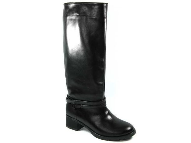 Высокие демисезонные кожаные сапоги с премиум кожи lordans