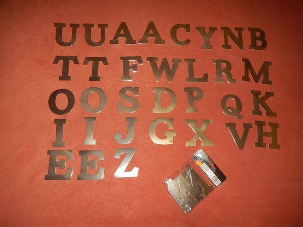 набор самоклеящихся английских букв 32 штуки