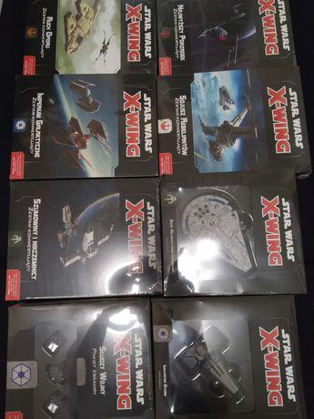 Star Wars X-wing Zestaw 6 frakcji konwerty i dodatki do 2.0ed