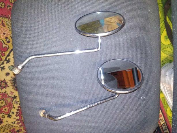 ретро зеркала металлические!
