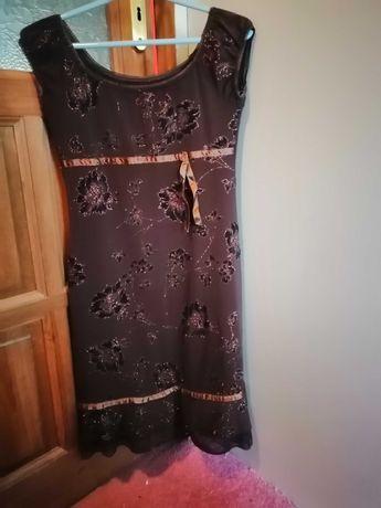 Sukienka brązowa