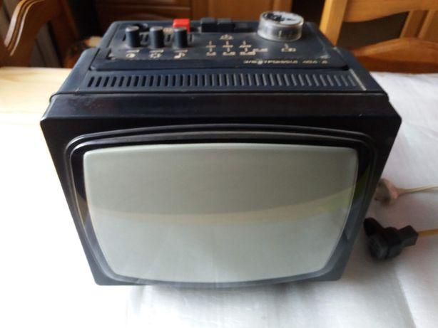 Zabytkowy turystyczny telewizor prod.ZSRR