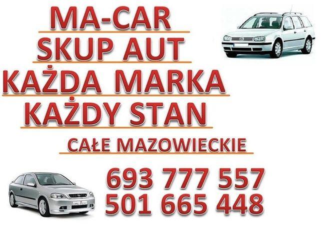 KUPIMY TWOJE AUTO !! Każdy stan, każda marka, bez opłat, SZYBKI ODBIÓR