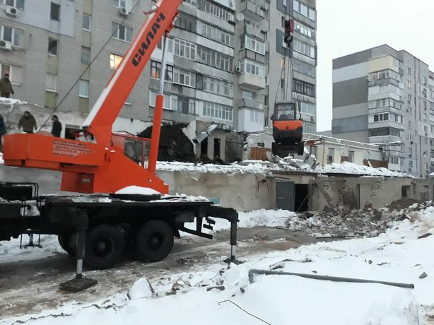 Демонтаж сооружений