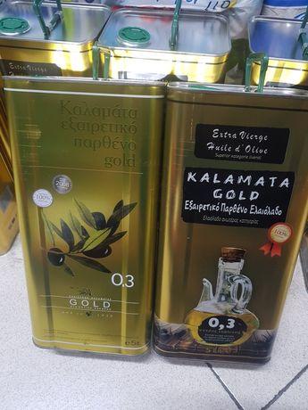 Kreta Kalamata extra virgin gold 0.3 5 litrów oliwa z oliwek grecka