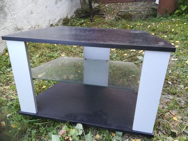 Sprzedam stolik TV z szklana pułka