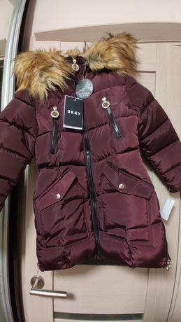 Куртка для девочки DKNY, новая, оригинал с оф.сайта