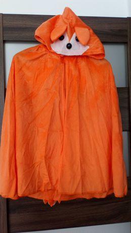 kostium przebranie peleryna Lisek