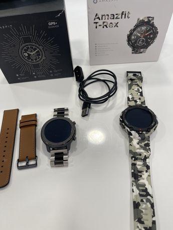 2 Smartwatch Amazfit GTR e T-Rex