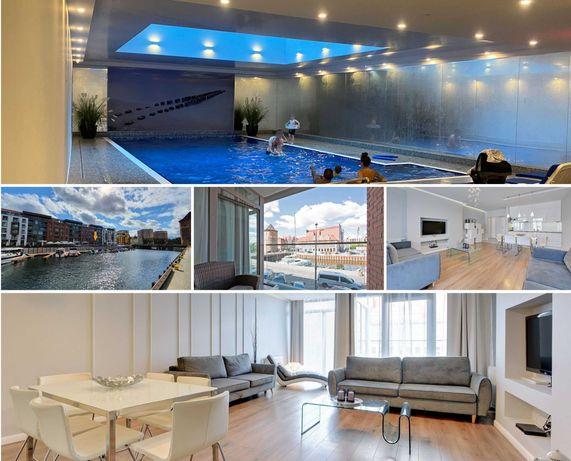 Apartament Marina View - garaż, basen, sauna, siłownia, jacuzzi