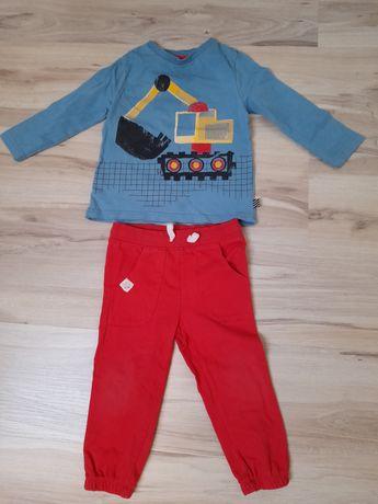 Spodnie plus bluzka dla chłopca